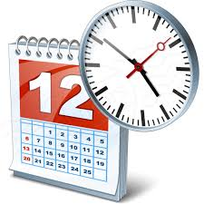 date& time calendar